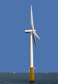 Offshore wind power services provided from the Humber ports of Grimsby and Immingham.